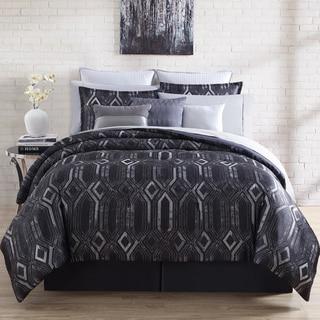 Nikki Chu Midnight 4-piece Comforter Set
