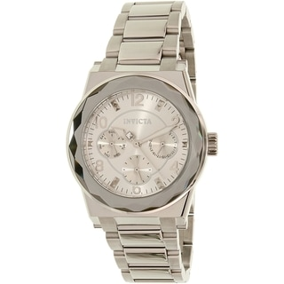 Invicta Women's Angel 22107 Silver Stainless Steel Quartz Watch