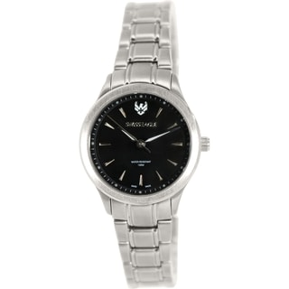 Swiss Eagle Women's SE-6047-11 Silver Stainless Steel Swiss Quartz Watch