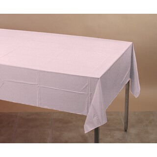 Creative Converting 710129 Classic Pink Tablecover