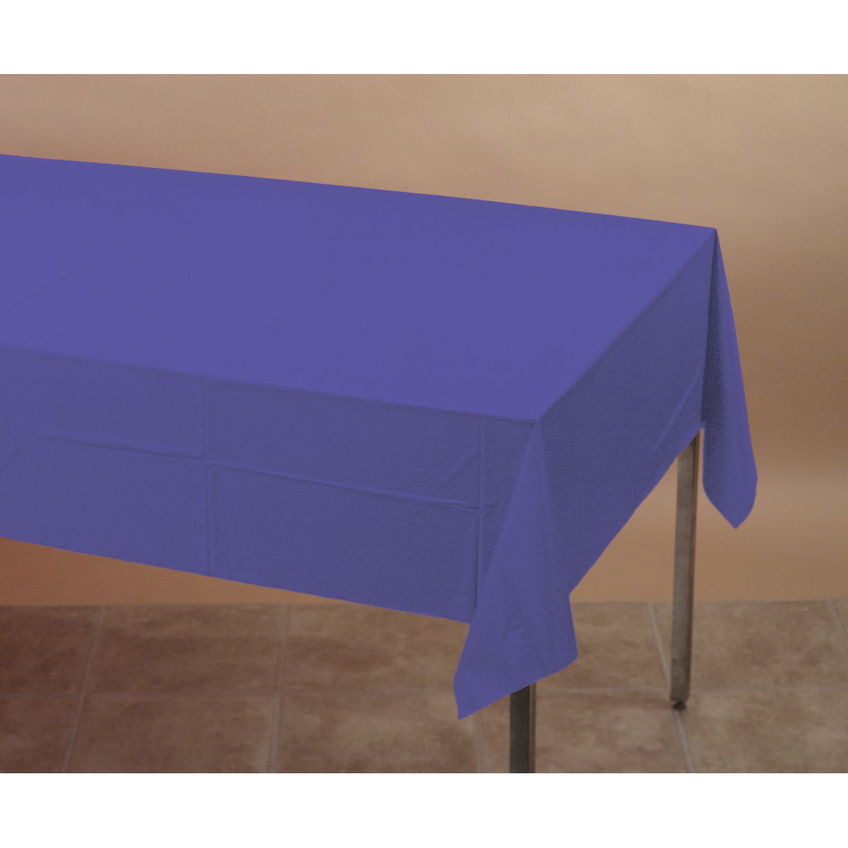 Creative Converting 710232 Purple Tablecover (Tablecover ...