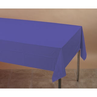 Creative Converting 710232 Purple Tablecover