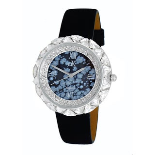 Adee Kayee Womens Exotic Stone and Crystal Watch