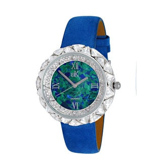 Adee Kaye Beverly Hills Exotic Stone and Crystal Women's Watch