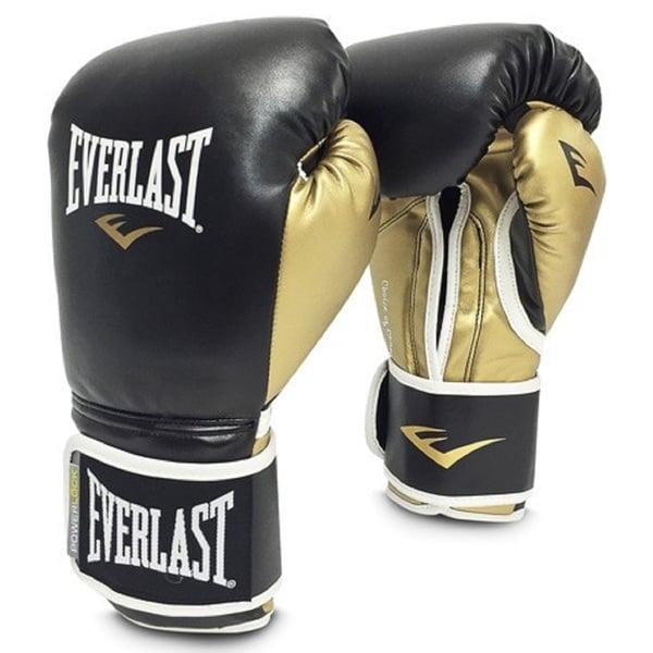 Everlast Men's Powerlock Multicolored Faux Leather 14-ounce Hook and Loop Gloves Pair