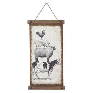 Farm Friends Wall Banner