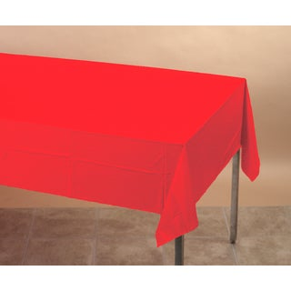 Creative Converting 711031 Red Tablecover