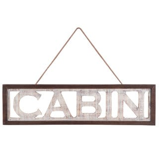White-washed Cabin Wall Art