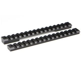 Warne Mountain Tech Savage 20MOA Black Aluminum Round Receiver Short Rail