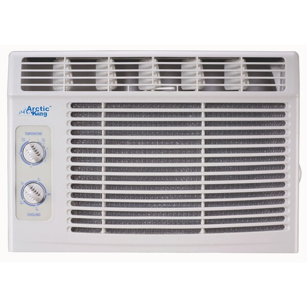 5000 BTU 115 Volt Window Air Conditioner with Turn Knob Co - Arctic King AKW05CM51