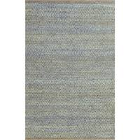 Superior Natural Fiber Hand Woven Diamond Jute Rug (8'x10')