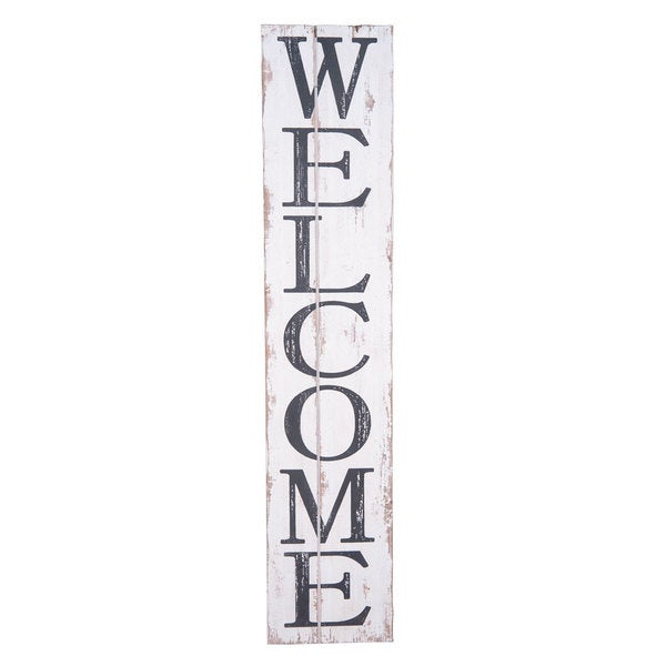 Shop Conway \'Welcome\' Wall Art - Free Shipping Today - Overstock.com ...