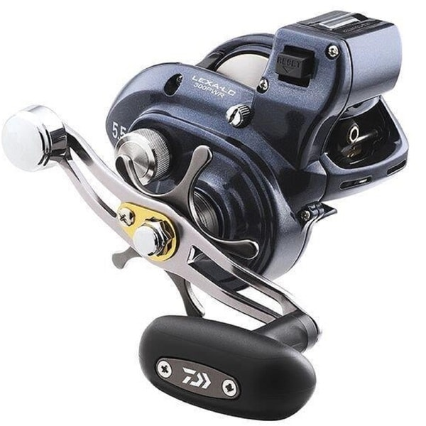 Daiwa Lexa 300 Line Counter Power Handle Baitcasting Reel. Opens flyout.