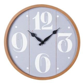 Rincon Grey Wall Clock