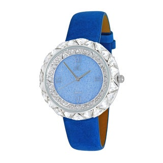 Adee Kaye Women's Exotic Stone and Crystal Watch