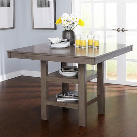 Simple Living Simon Counter Height Dining Table - Distressed Grey