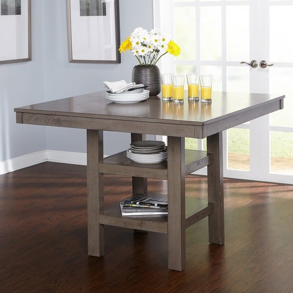 dbe410c6c91fd9 Shop Simple Living Simon Counter Height Dining Table - Distressed ...