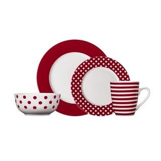 Pfaltzgraff Kenna Red Dinnerware Set (16-piece)