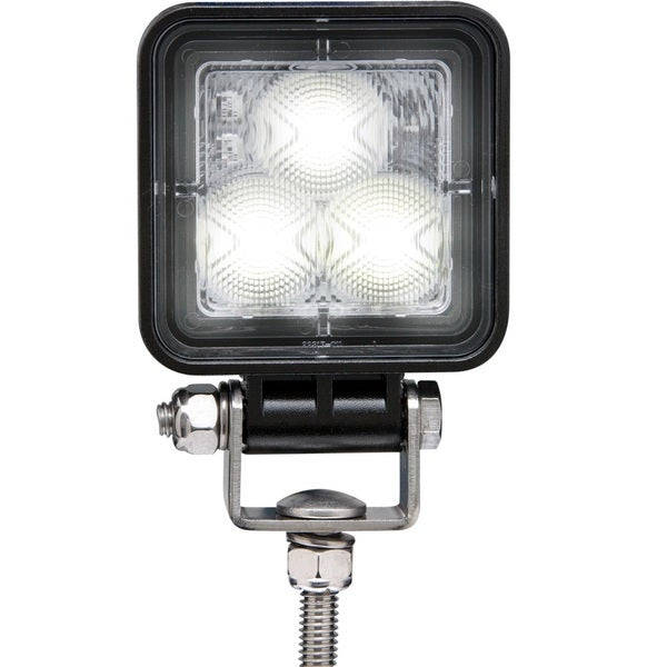 Optronics Opti-Brite Black Stainless Steel LED Work Light