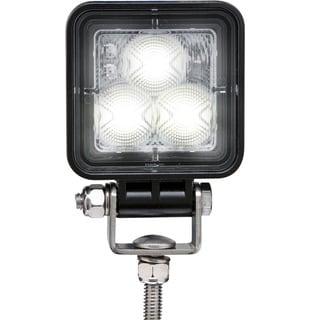 Optronics Opti-Brite Black Stainless Steel LED Work Light