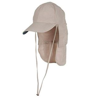Glacier Glove Black Rock Khaki Mesh Vented-panel Adjustable Sun Hat