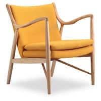 Kardiel Copenhagen 45 Wood/Twill Mid-century Modern Chair