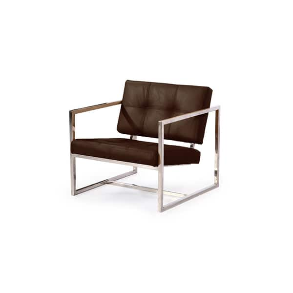 Remarkable Shop Kardiel Modern 1950 Aniline Leather And Stainless Steel Machost Co Dining Chair Design Ideas Machostcouk