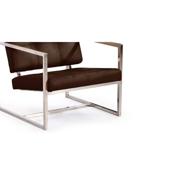 Fantastic Shop Kardiel Modern 1950 Aniline Leather And Stainless Steel Machost Co Dining Chair Design Ideas Machostcouk