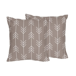 Sweet Jojo Designs Outdoor Adventure Collection 18-inch Decorative Accent Throw Pillows (Set of 2)