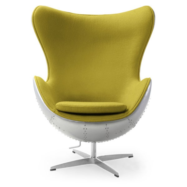Karl Steampunk 1958 Amoeba Chair Cashmere Wool