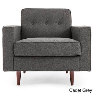 Kardiel Eleanor Cashmere Mid-century Modern Classic Armchair (2 options available)