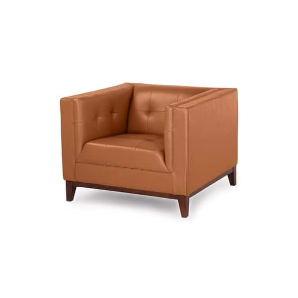 Pleasing Shop Kardiel Harrison Mid Century Modern Premium Aniline Pdpeps Interior Chair Design Pdpepsorg