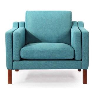 Kardiel Monroe Mid-century Modern Premium Fabric Armchair