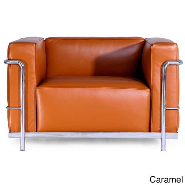 Peachy Shop Kardiel Mid Century Modern Premium Aniline Leather Caraccident5 Cool Chair Designs And Ideas Caraccident5Info