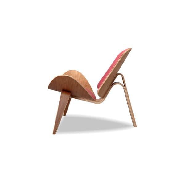 Awe Inspiring Shop Kardiel Tripod Mid Century Modern Premium Fabric Lounge Andrewgaddart Wooden Chair Designs For Living Room Andrewgaddartcom