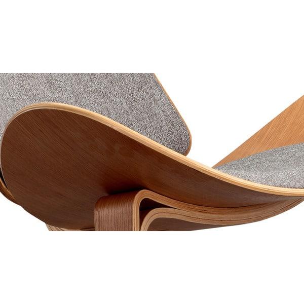 Sensational Shop Kardiel Tripod Mid Century Modern Premium Fabric Lounge Andrewgaddart Wooden Chair Designs For Living Room Andrewgaddartcom
