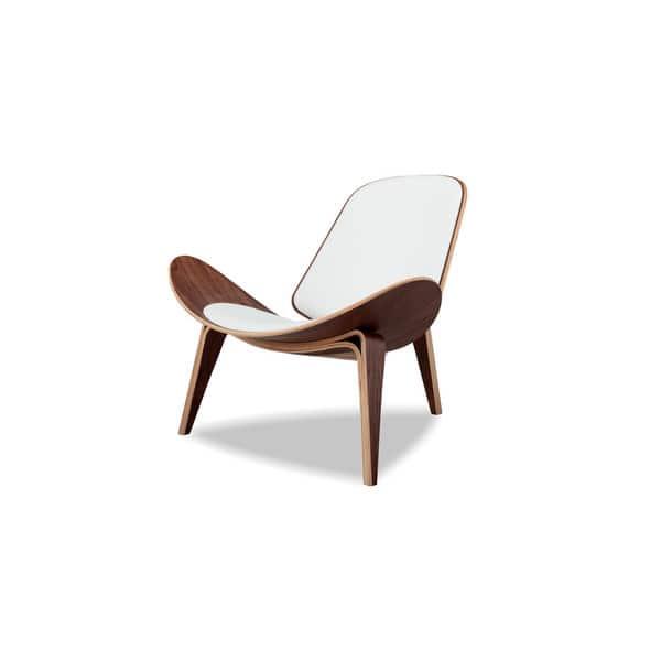 Awe Inspiring Shop Kardiel Tripod Mid Century Modern Italian Leather Andrewgaddart Wooden Chair Designs For Living Room Andrewgaddartcom