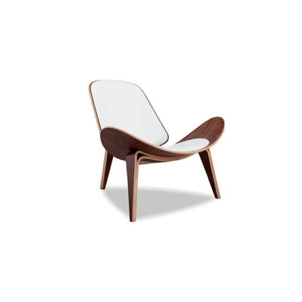 Surprising Shop Kardiel Tripod Mid Century Modern Italian Leather Andrewgaddart Wooden Chair Designs For Living Room Andrewgaddartcom
