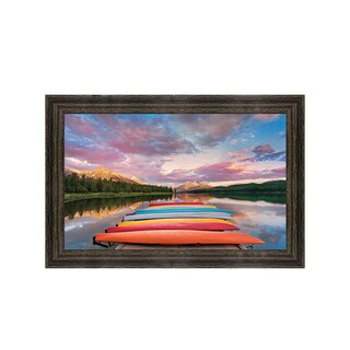 Framed Art Kayaks by Yiming Hu