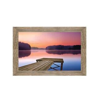 Framed Art Morning Stillness by Darren Cook