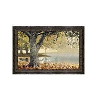Framed Art Lakeside by Donald Satterlee