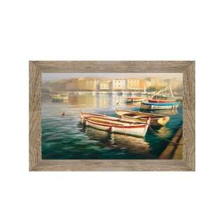 Framed Art Harbor Morning by Roberto Lombardi