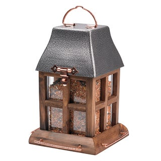 Perky Pet 2.5 Lb Capacity Fresh Designs® Paul Revere Bird Feeder