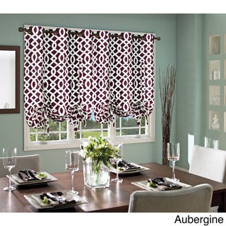 Trellis Thermalogic Weathermate Lined Tie-up Window Shade