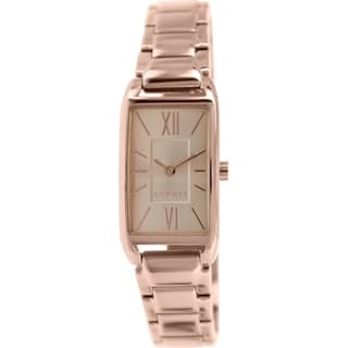 Esprit Women's Rose Goldtone Stainless Steel Analog Quartz Watch