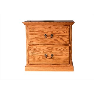 Forest Designs Multicolored Wood Traditional 2-drawer Nightstand