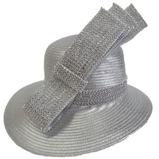 Swan Hat Metallic Year-around Designer Couture Hat