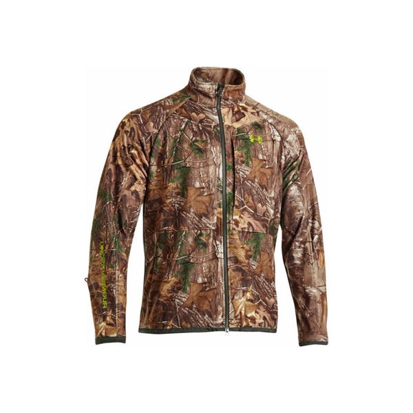 Under Armour ColdGear Infrared Scent Control Rut Realtree Ap Xtra /Velocity Jacket