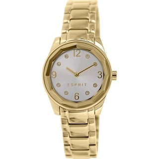 Esprit Women's ES106552007 Gold Stainless-Steel Analog Quartz Watch