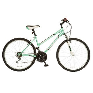 Titan Women's Pathfinder Mint Green 18-speed Suspension Mountain Bike